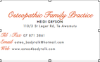 Osteopathic Family Practice